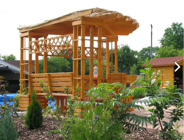 Pergola na zahradu jako funkční prvek