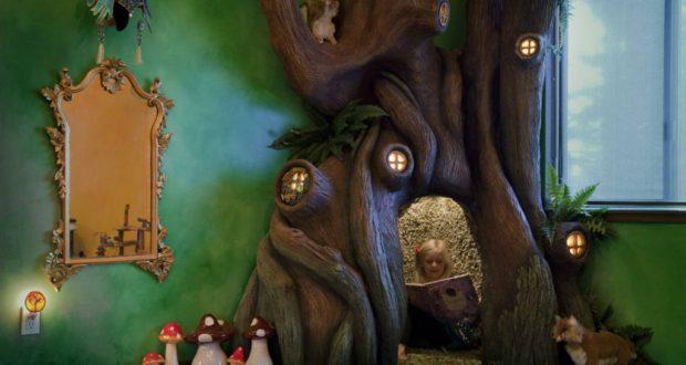 Tatínek stvořil dceři kouzelný strom